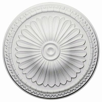 "Ekena Millwork Alexa 15""H x 15""W x 1.75""D Ceiling Medallion"