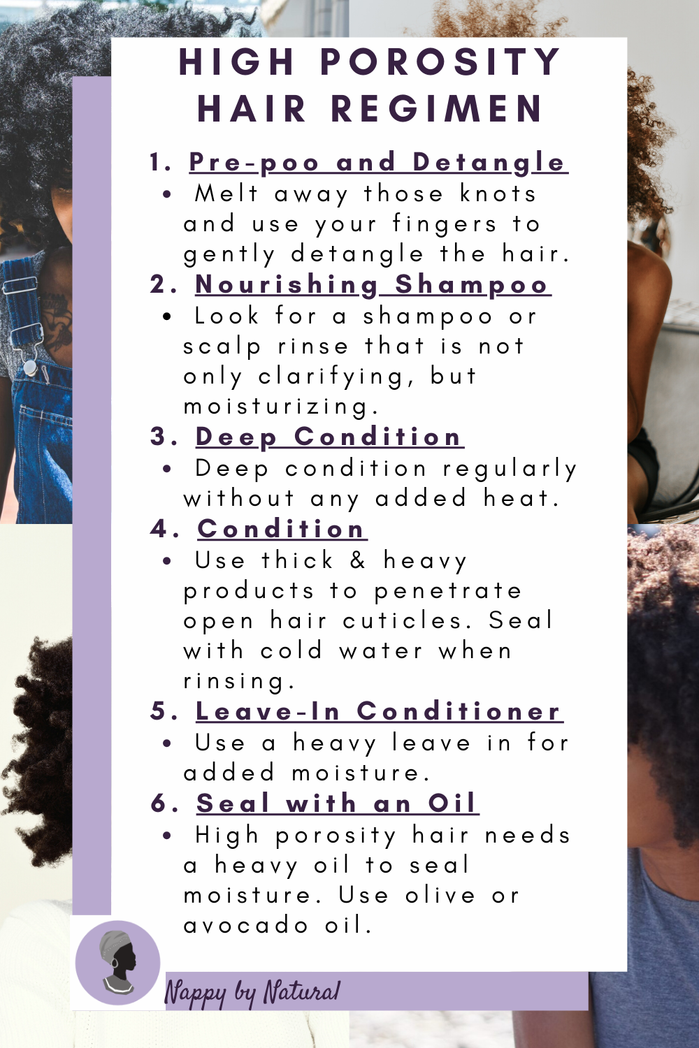 High Porosity Hair Regimen!