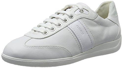 Geox D Myria B, Zapatillas para Mujer, Blanco (Off White), 36 EU