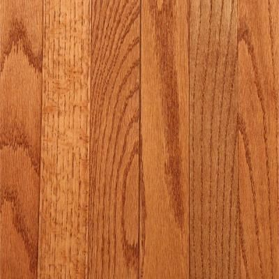 Bruce Laurel Gunstock Oak 3 4 In Thick X 2 1 4 In Wide X Varying Length Solid Hardwood Flooring 20 Sq Ft Case Cb924 The Home Depot Bruce Hardwood Floors Hardwood Floors Solid Hardwood Floors