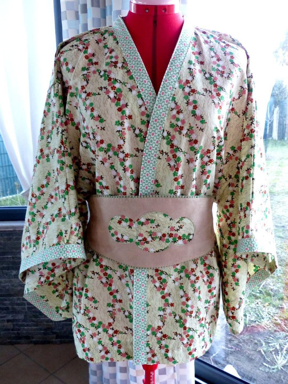 Blouson femme motif japonais