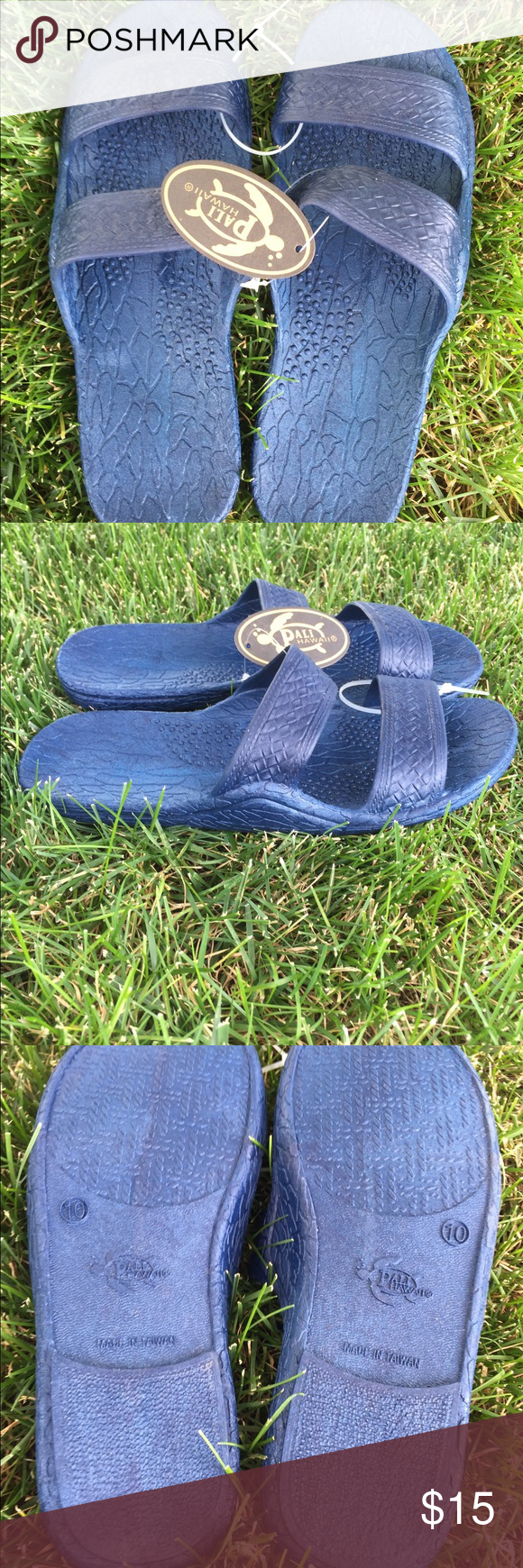 5dae24355ec NWT Authentic Pali Hawaii Jesus Sandals Navy Blue BRAND NEW!! With tags  still on. These are the most comfortable shoes you will ever wear!
