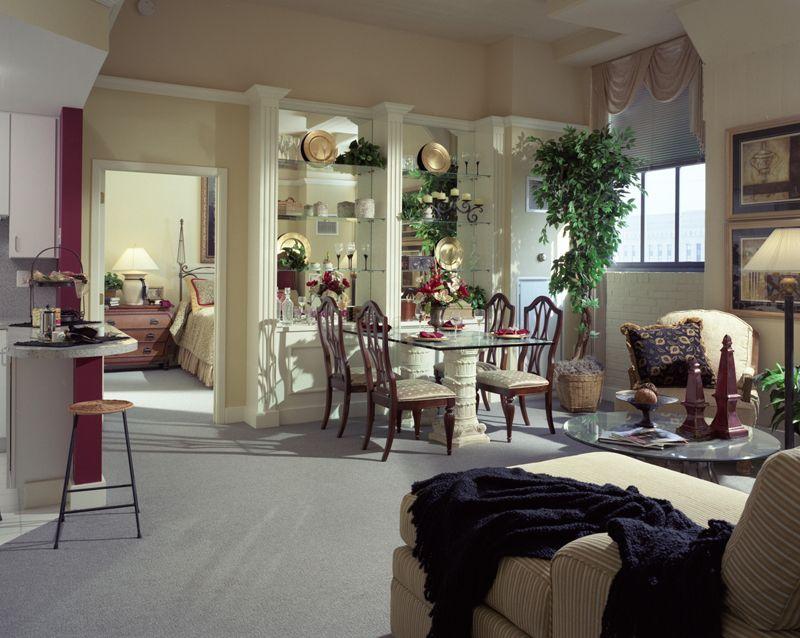 Beautifully Decorated Model Unit Philadelphia Apartments