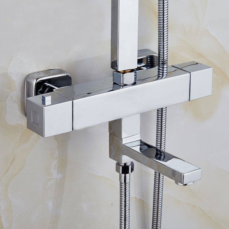 Free Shipping Polished Shower Mixer All Copper With The For ...