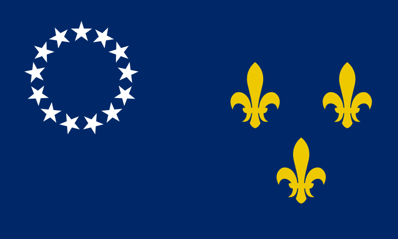 Idea For Quilt Old Louisville City Flag From Before The City County Merger Kentucky Flag City Flags Flag