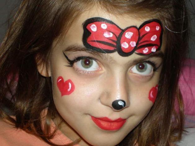 Maquillaje artistico infantil sencillo maquillajes Pinterest