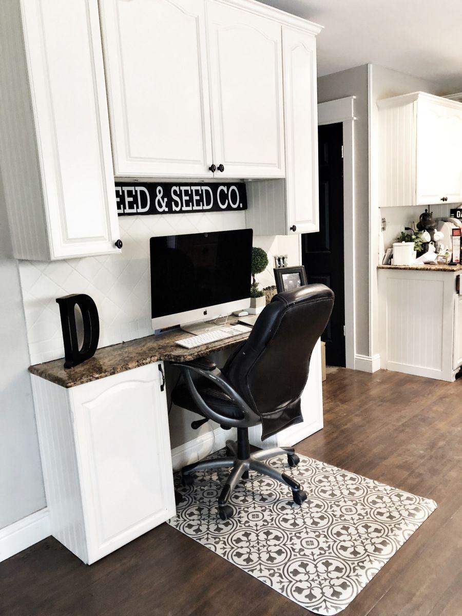 UPDATING AN OLD OFFICE CHAIR MAT, Chair