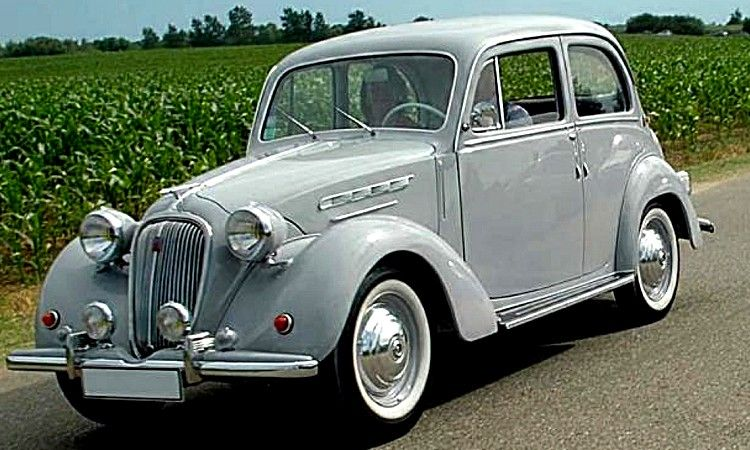 Beliebt Simca 8, voiture routière de 1938 La Simca 8 1200, version  ZP75