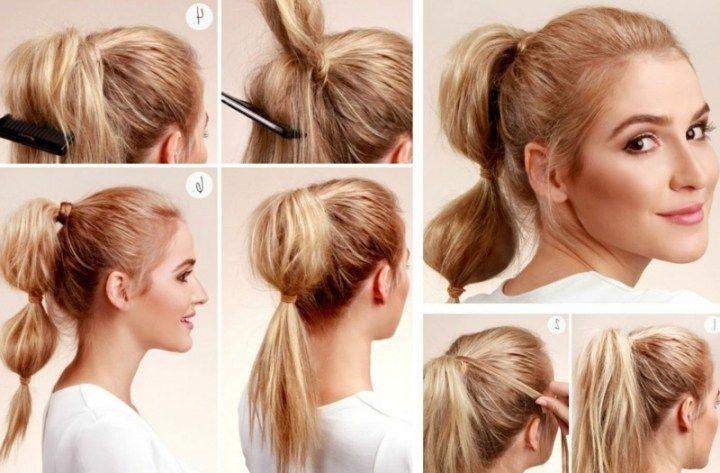 Coolsten Einfache Frisuren Mittellanges Haar Sammlung Durchgehend
