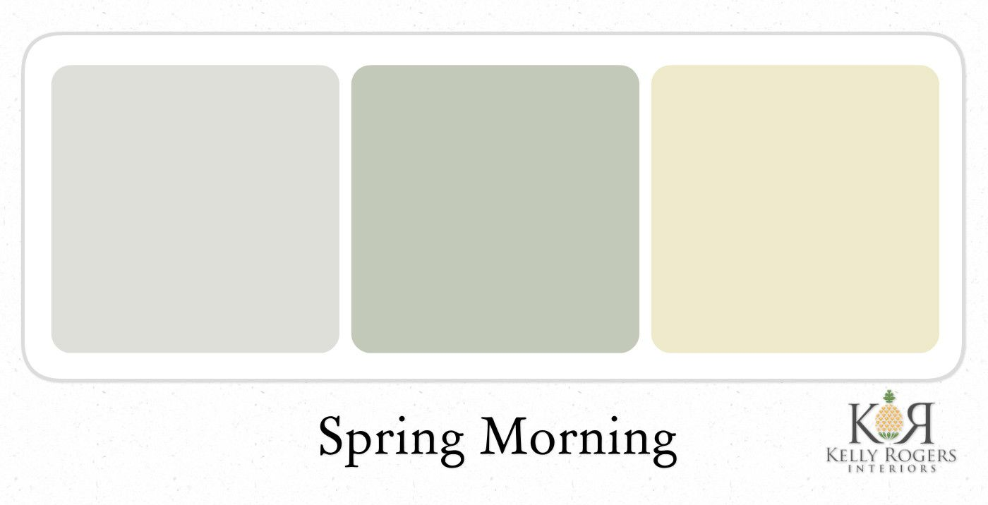 Spring Morning soothing bedroom color scheme   Kelly Rogers Interiors. Spring Morning soothing bedroom color scheme   Kelly Rogers