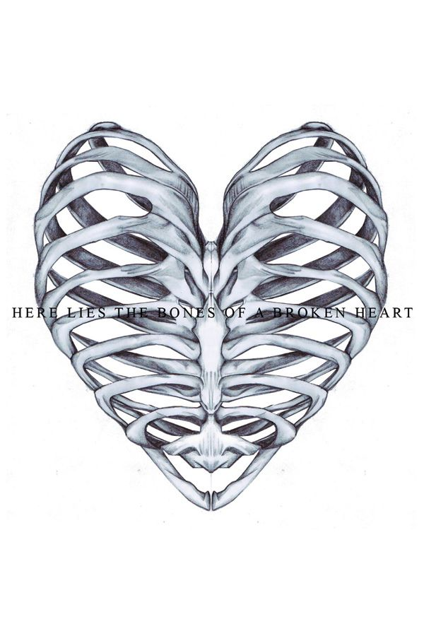 If Your Heart Was Broken You Would Be Dead The Rib Design Is