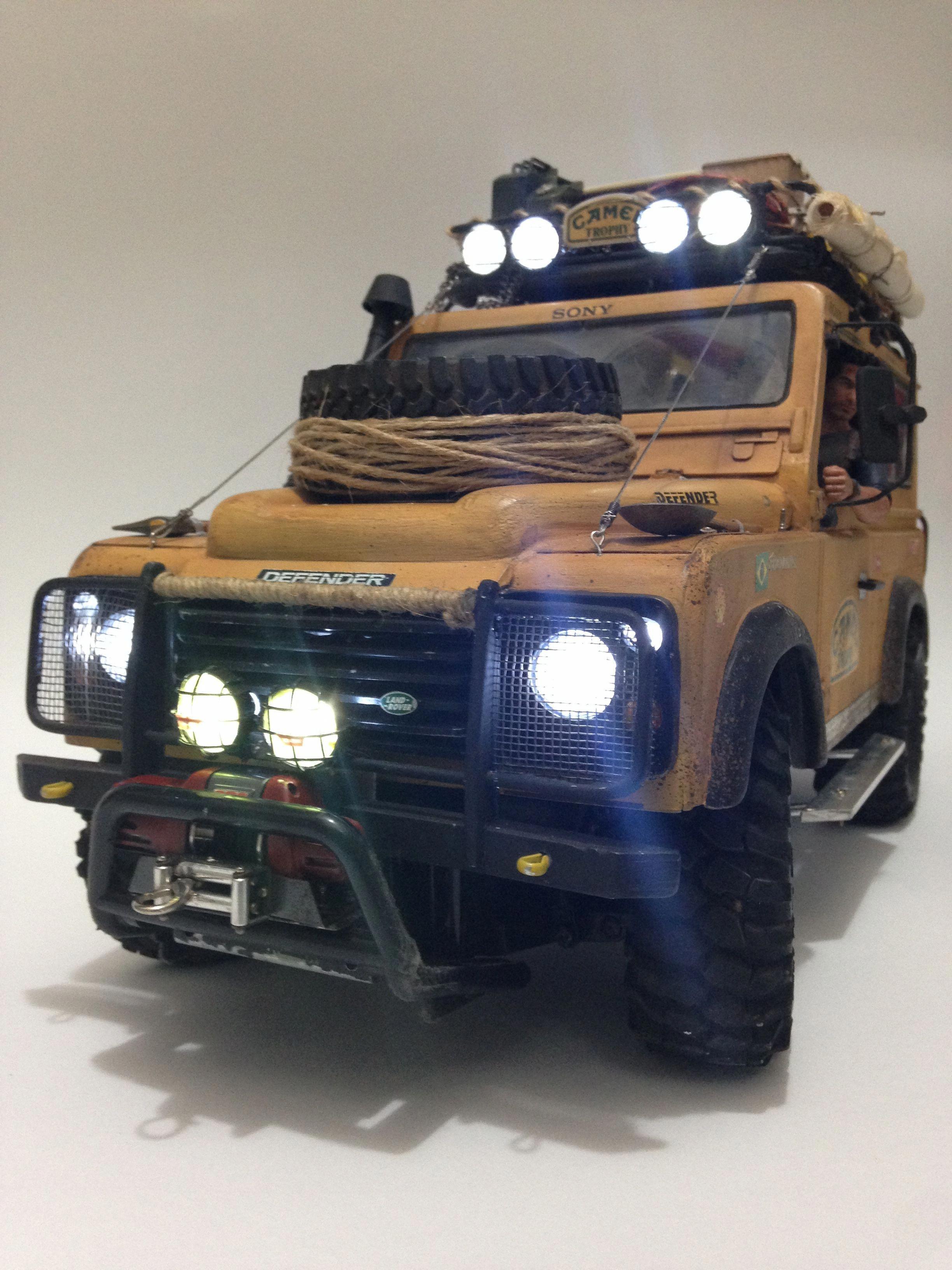 Land Rover Camel Trophy CC01 Tamiya RC Crawler #radiocontrolledcars