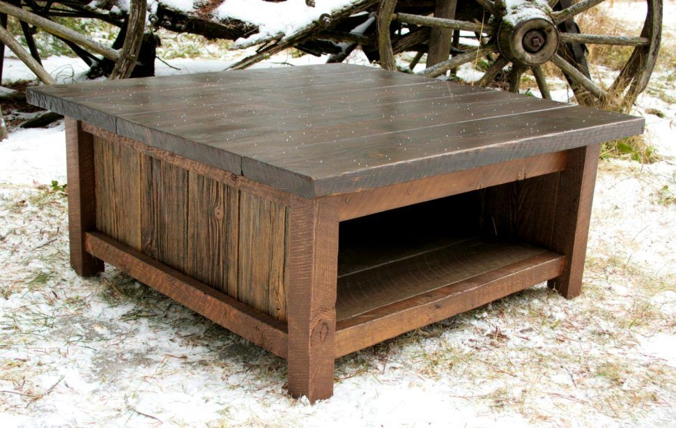 Kitchen Mesmerizing Contemporary Fusion Modern Rustic Coffee Table