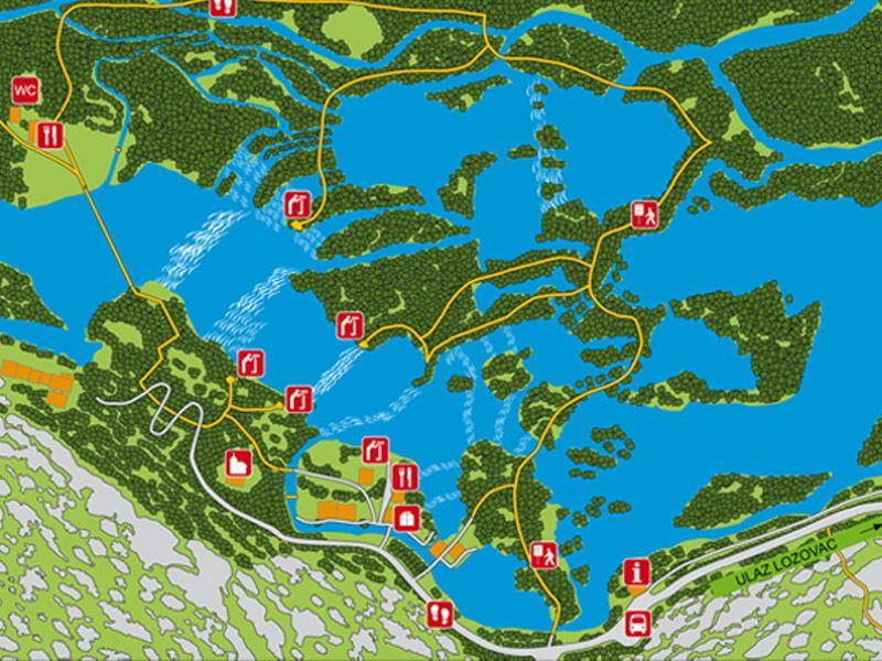 View and print maps of Krka National Park, Skradinski buk, Roški - grimm küchen karlsruhe