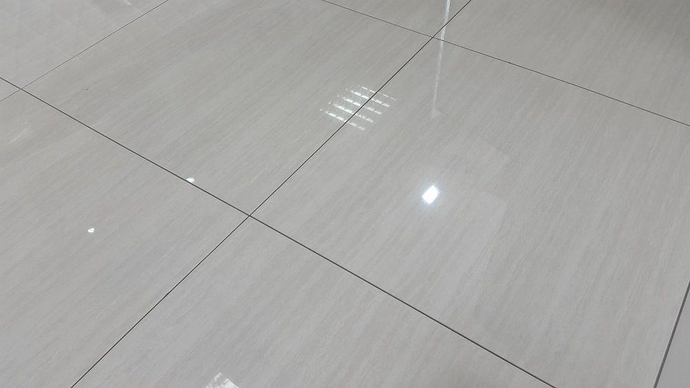 60x60 LIBERTY GREY Pre-sealed Polished Porcelain tile - 15m2 Deal ...