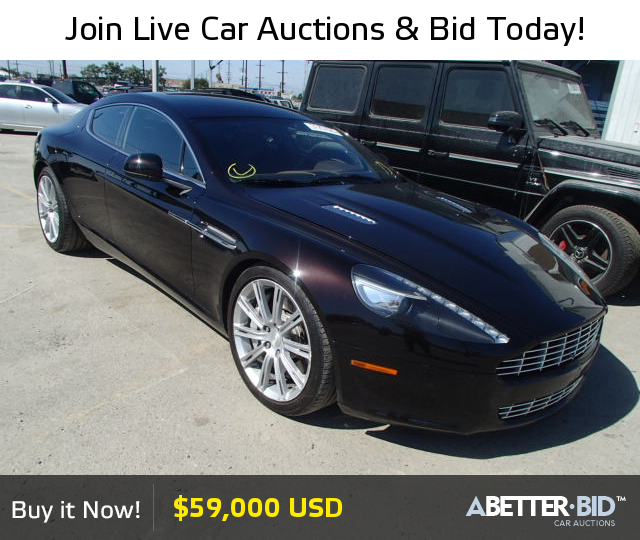 Salvage 2010 ASTON MARTIN ALL MODELS For Sale