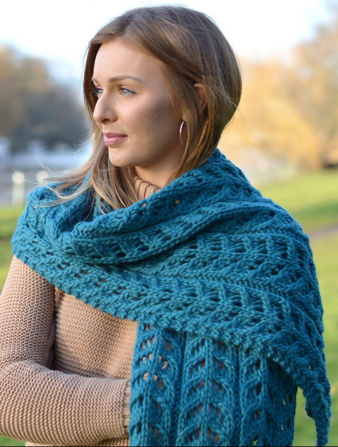 Knitting Pattern Kinvara Wrap | Knitting | Pinterest | Tejido en ...