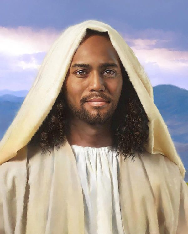 Image result for Jesus Christ is black