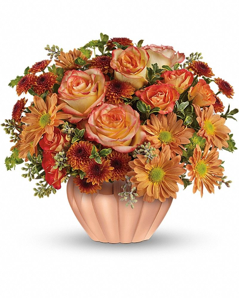 Joyful Hearth Bouquet Thanksgiving flowers, Flower