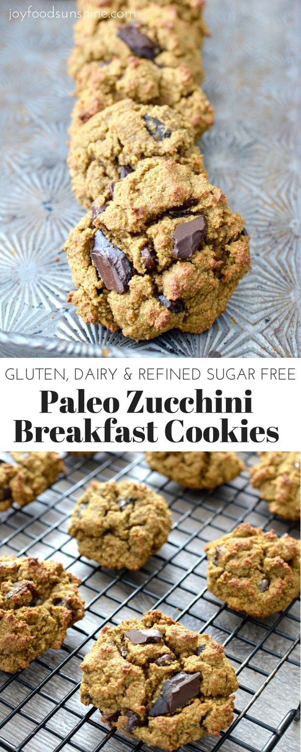 Paleo Zucchini Breakfast Cookies Healthy And Delicious Breakfast