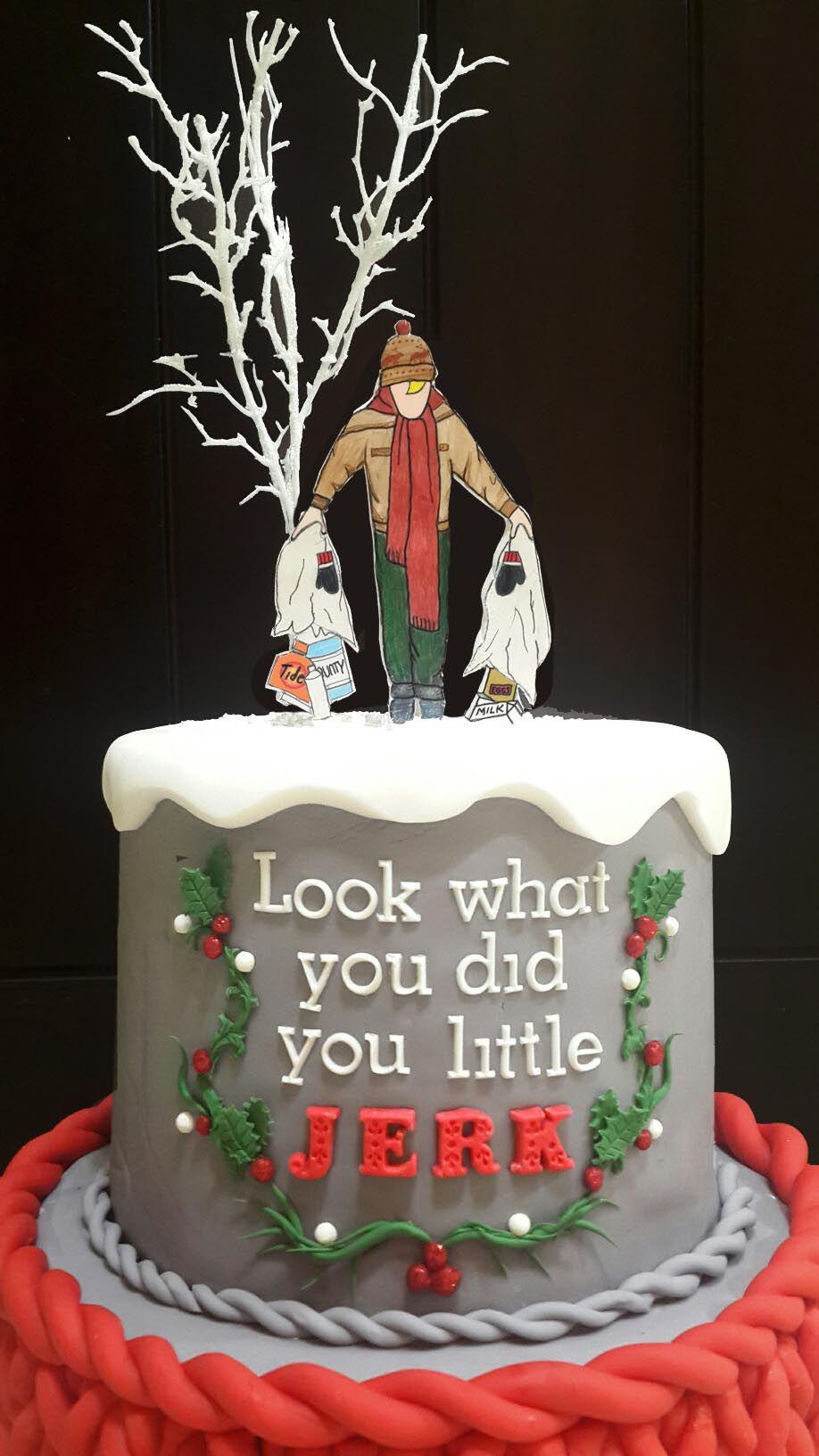 Home Alone Christmas Cake Kevin Cake Christmas Cake Home Alone Christmas