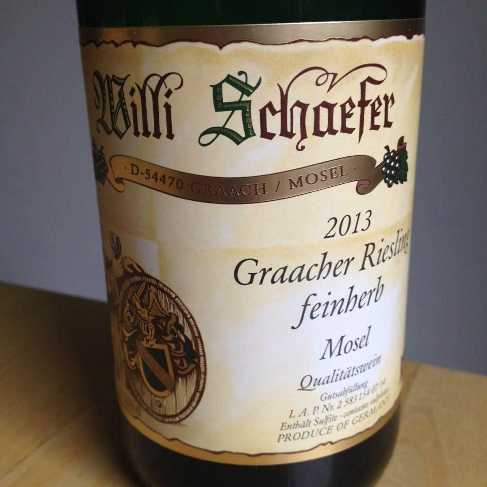 Willi Schäfer 2013 Graacher Riesling feinherb Wein von der Mosel  Ein filigraner, fein fruchtiger Wein mit wunderbarer Leichtigkeit, Frische und Mineralität!   #wein #weinerleben