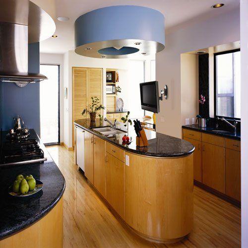 11 Ways To Put A Tv In The Kitchen Kitchen Kitchen Interior Modern Kitchen