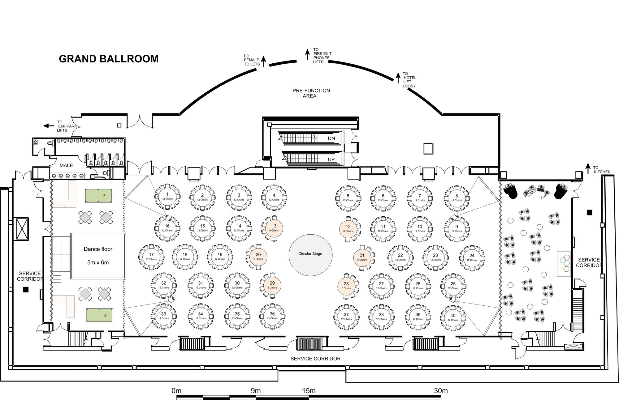 Floor Plan in 2020 Wedding floor plan, Event layout