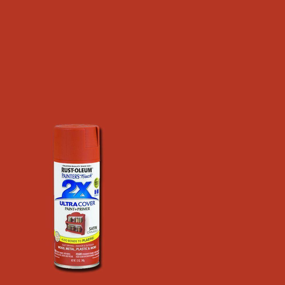 Rust Oleum Painter S Touch 2x 12 Oz Satin Cinnamon General