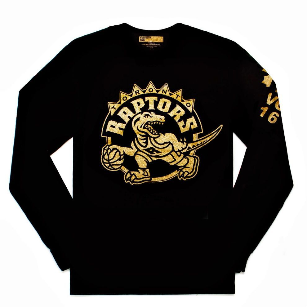 Drake Reveals Toronto Raptors X Ovo Drake Night Shirt Tee