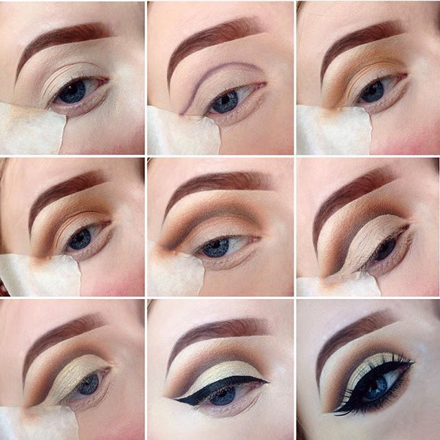 Instagram media jadetmakeup_ - CUT CREASE step by step blog now available to view, link in b