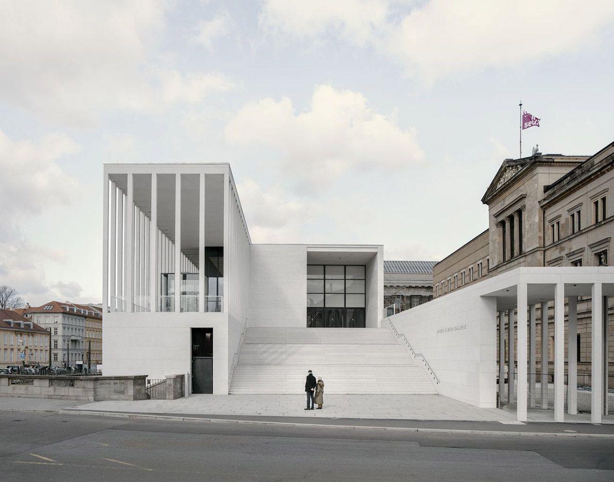 David Chipperfield Architects Opens James Simon Galerie On Berlin S Museum Island David Chipperfield Architects Museum Architecture Architecture
