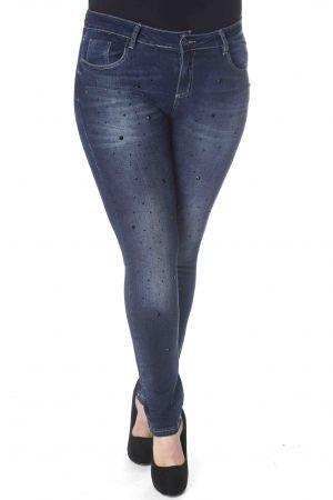f1b6e200dd5 PlusSize Παντελόνι jean με στρας | PLUS SIZE CLOTHING / ΜΕΓΑΛΑ ...