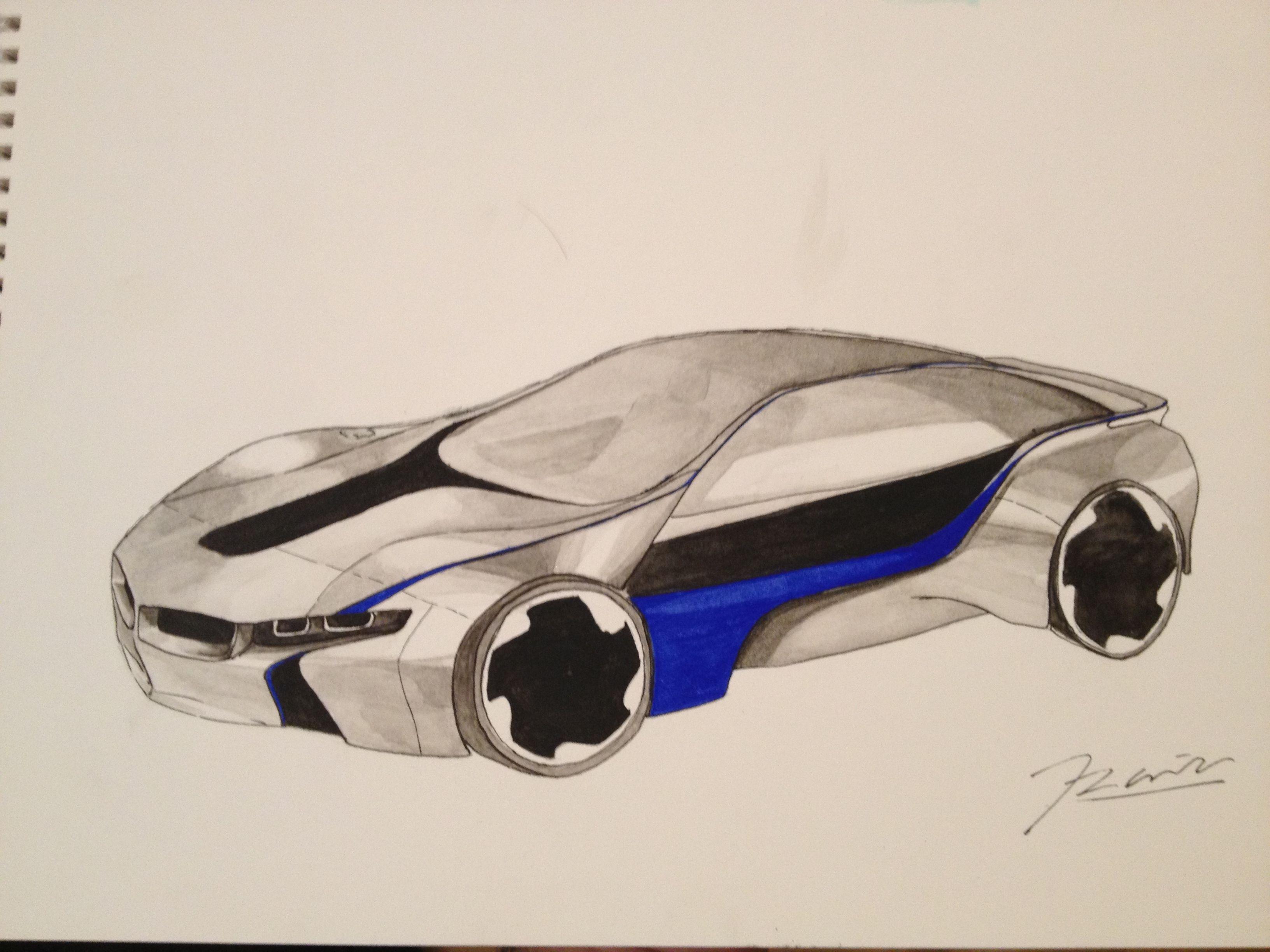 Acuarela BMW