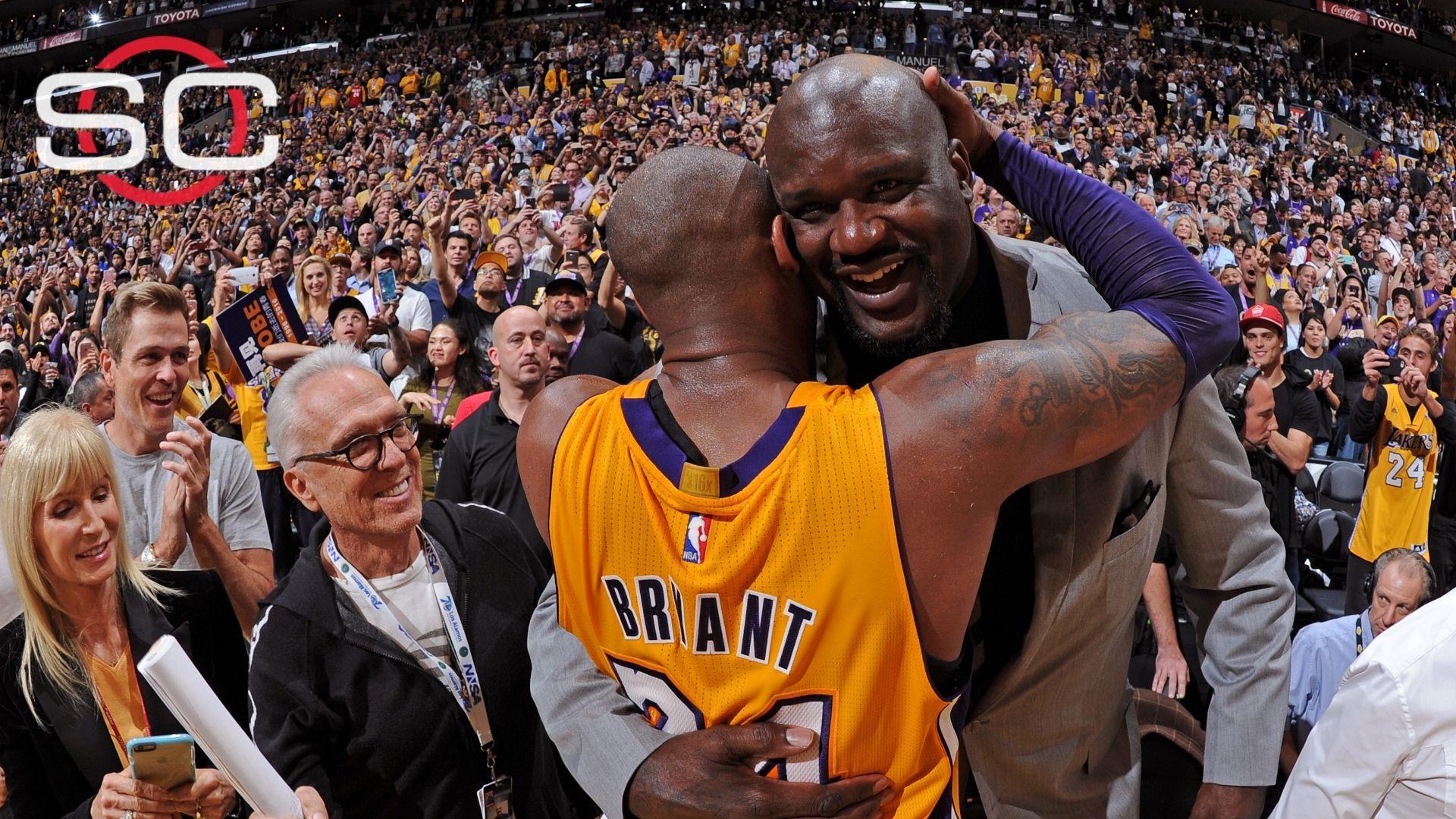 Shaq challenged Kobe to 50 points ESPN Video Kobe