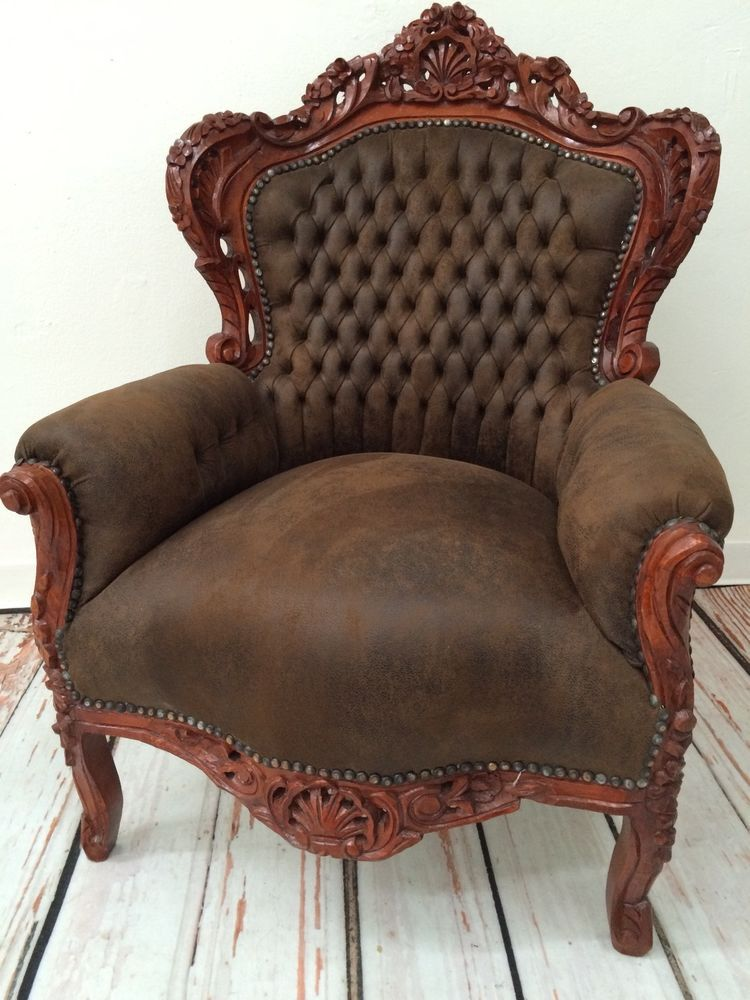camel suede accent chair