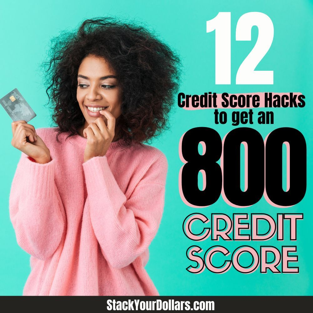Learn how to build your credit score with these awesome credit building tips! Whether you have no credit, bad credit, or your credit is just so-so, these credit hacks will help you get the high credit score you want. Following the tips I'm sharing is exactly what helped me reach a 700 credit score and then now reach the 800 credit score rank! It's been a journey, but these tips can make it so much easier for you! #creditscore #credittips #buildcredit #stackyourdollars
