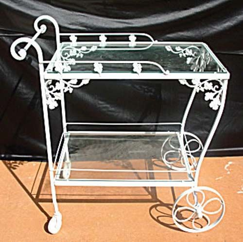 Woodard Orleans Wrought Iron Tea Cart Sold In 2019