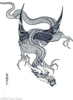 japanese dragon tattoo designs에 대한 이미지 검색결과   Картинки ...
