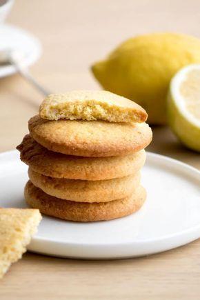 Sablés citron et amandes - Empreinte Sucrée