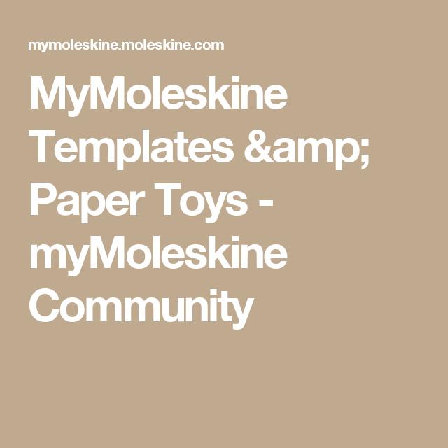 mymoleskine templates