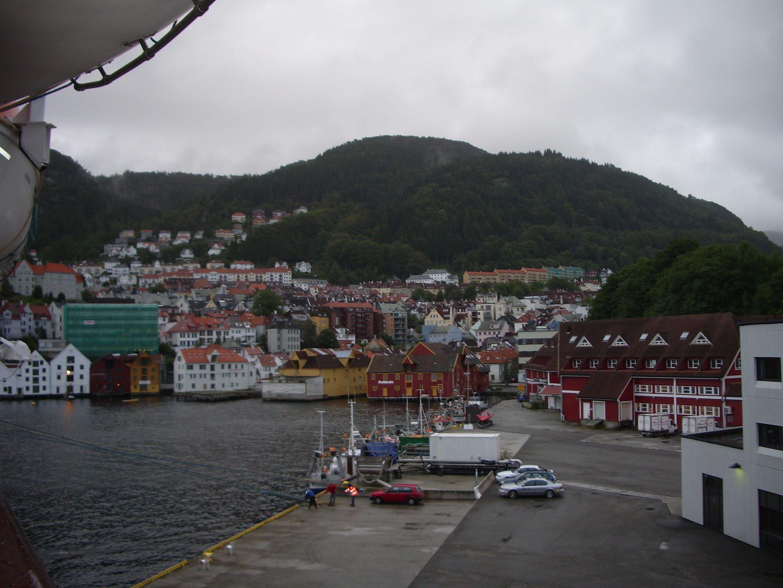 Ship dock at Kristiansand, Norway