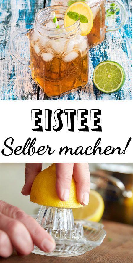 Eistee selber machen - so einfach geht's! #nonalcoholic