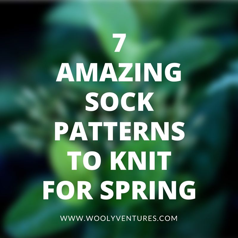 The ultimate bucket list of knitted sock patterns. Includes beautiful free patterns from Rachel Coopey to Purl Soho, for the beginner to advanced knitter.