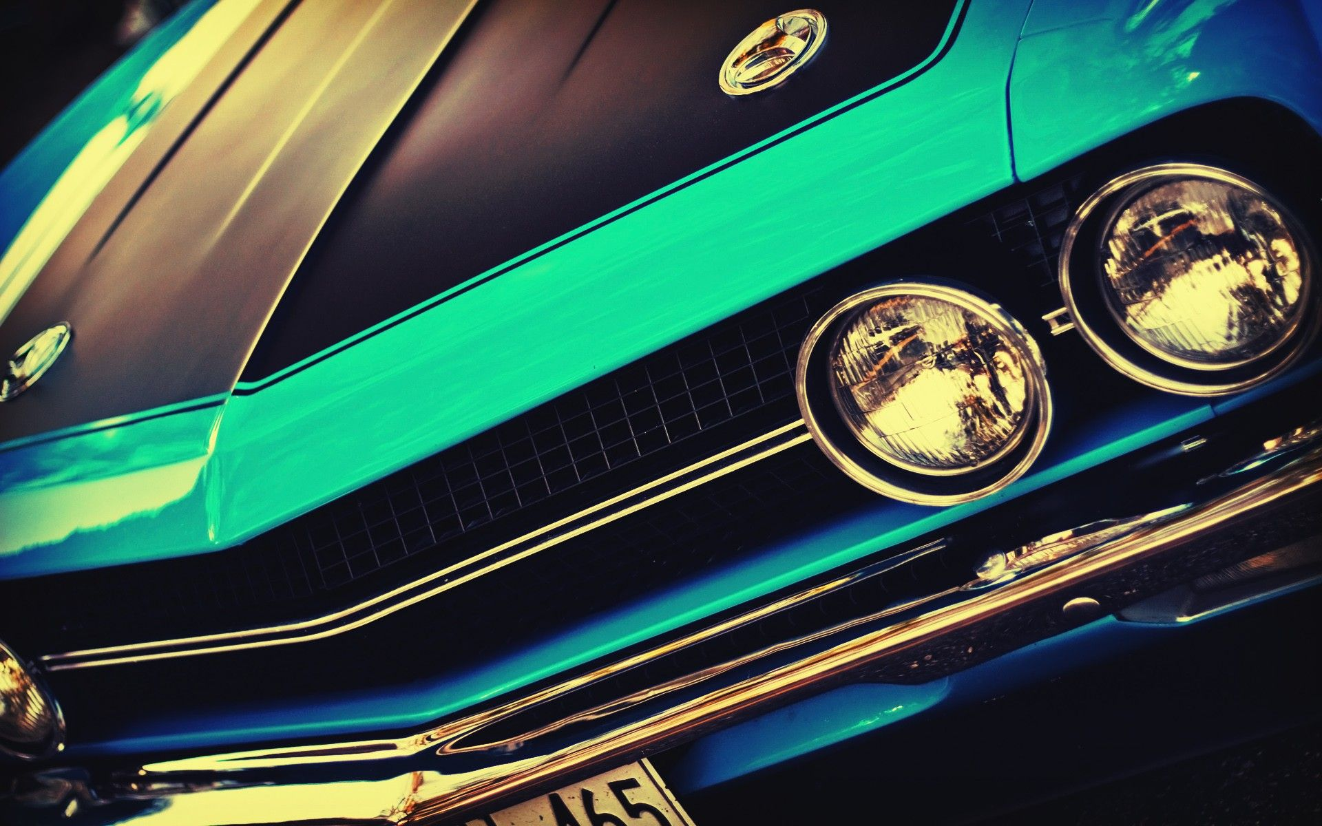 American cars Challenger USA blue cars cars wallpaper (#1841627 ...