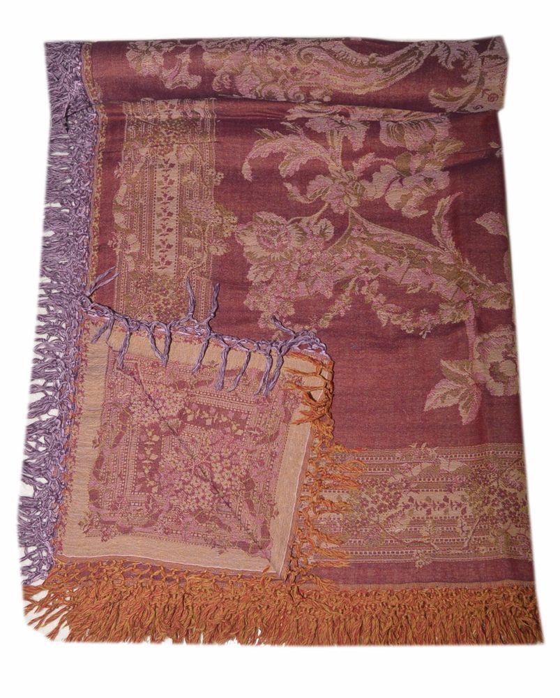 Blanket Throw Tree Of Life Bedspread Wool Indian Bedding Sofa Cover Sl865 Tribalasiantextile Asianoriental
