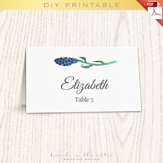 floral wedding placecard template printable escort cards wedding printable name card template place card template diy