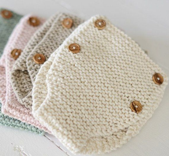 Photo of ENGLISH Knitting Pattern Baby Drawers Pattern Learn To Knit Diaper Cover DIY Newborn Knickers Organic Baby Clothing
