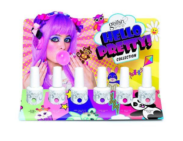 Colección Hello Pretty! Summer 2015 de #Gelish ya está en vorana ;)