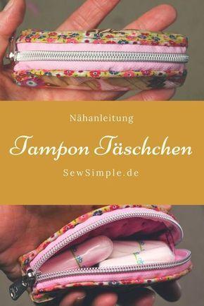 Tampon-Täschchen nähen #weihnachtsmarktideenverkauf